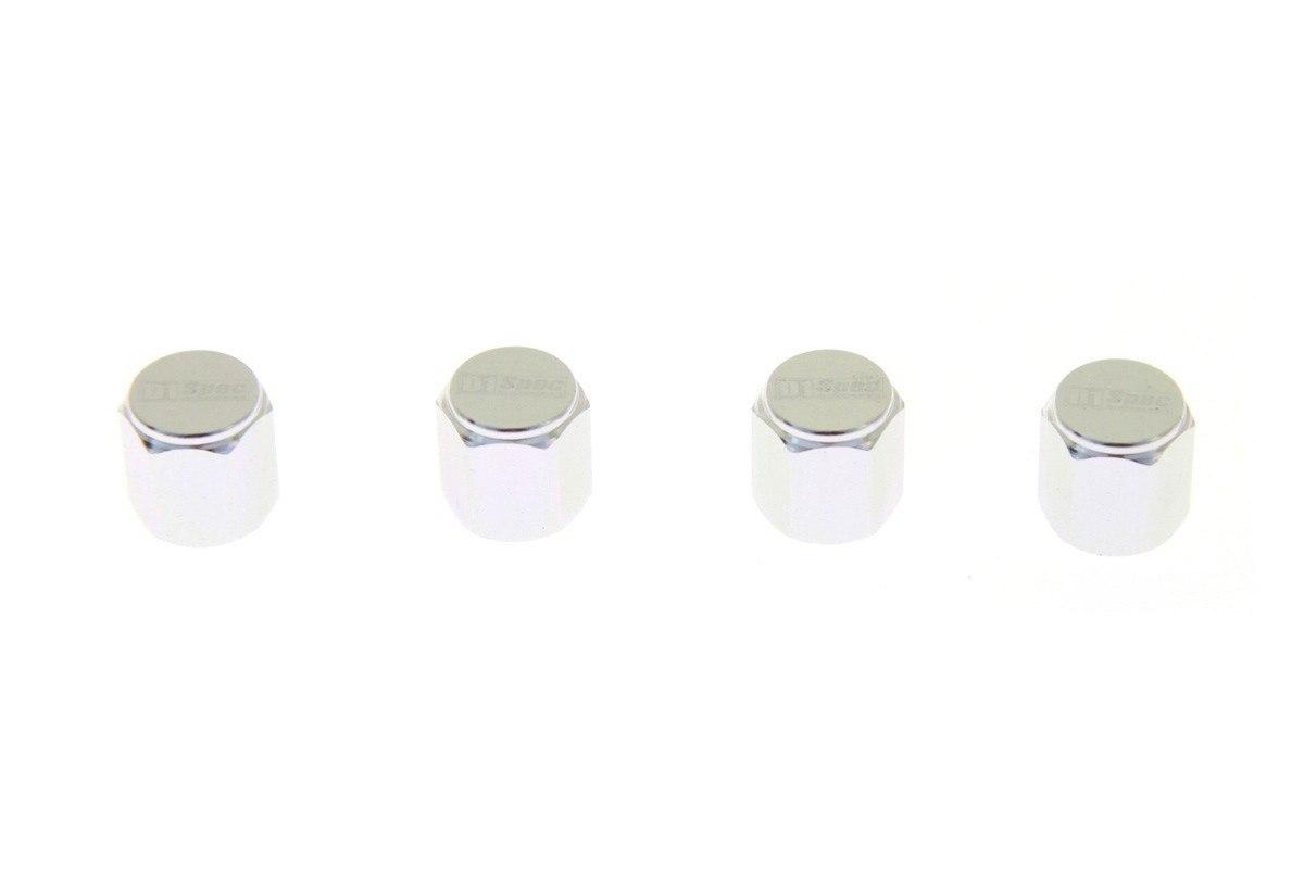 Zakrętki wentyli D1Spec D1S035 Silver - GRUBYGARAGE - Sklep Tuningowy